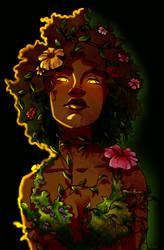 Nature Goddess by Ryalgi