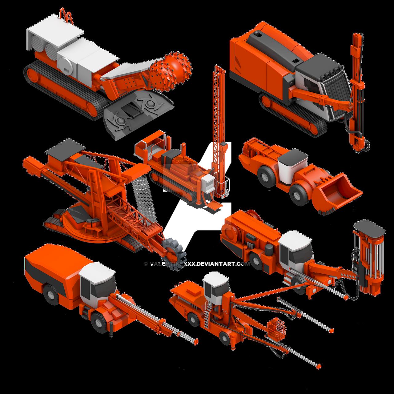 Mining-Machines by ValentineXXX