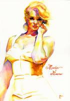 Marilyn Monroe Watercolour