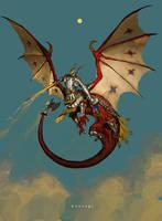 Dragontaur by bwusagi