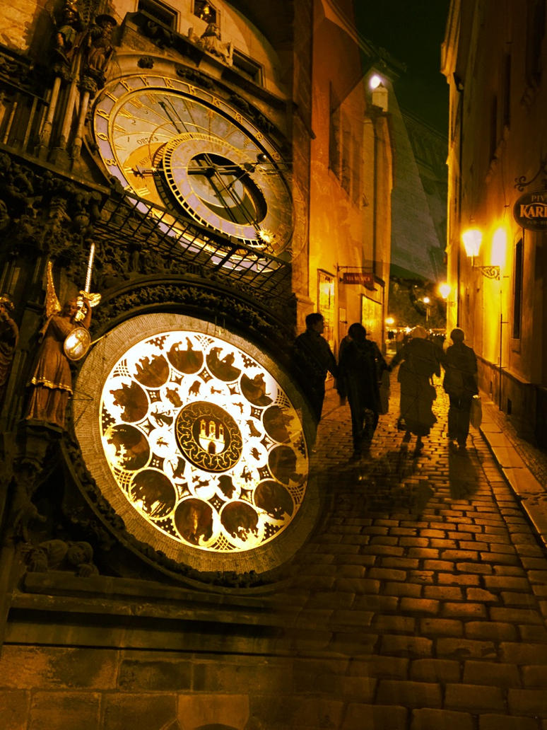 Gothic Old town prague clock by NarcissusDark