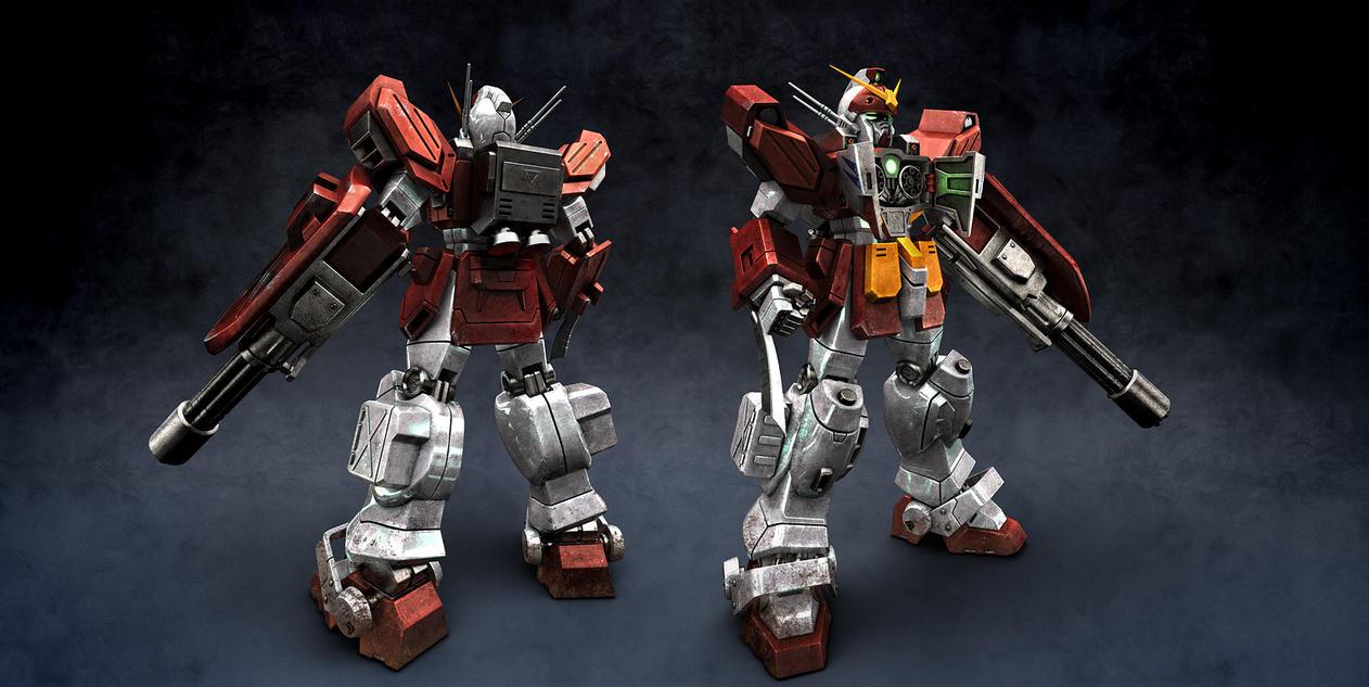Gundam Heavy Arms Redux by radimere on DeviantArt
