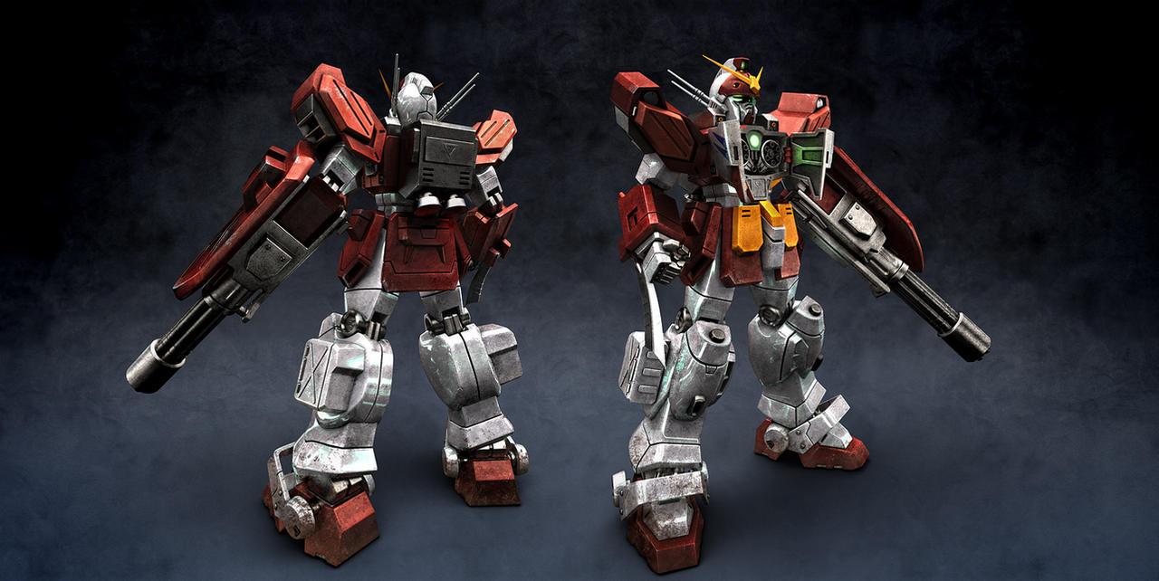 Gundam Heavy Arms Redux by radimere