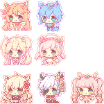 Brittle Cookie Icons by bunni-mi