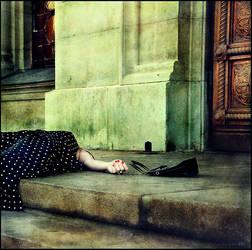 Alone... by MiraNedyalkova