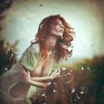 The wind and me... by MiraNedyalkova