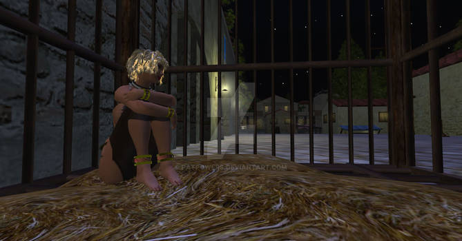Caged Slavegirl Night