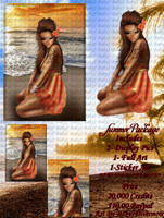 Summer Avi IMVU by LadyJ90
