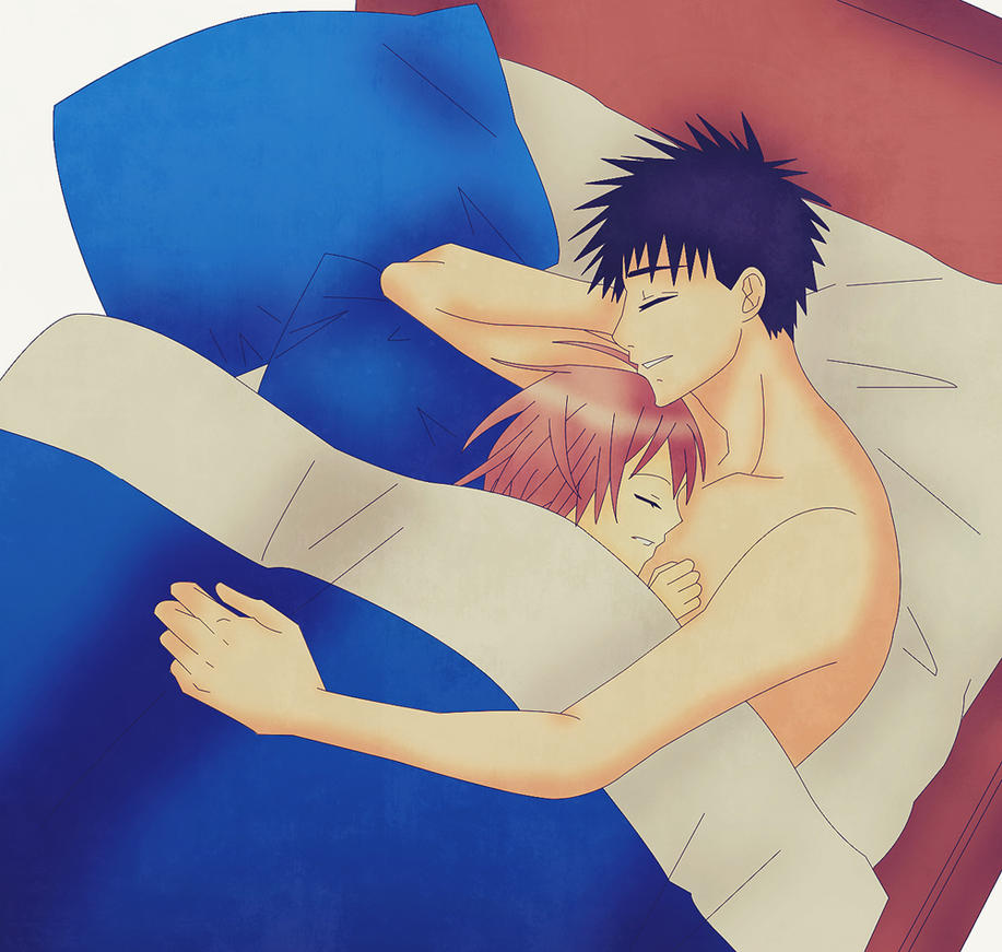 Sleeping Together by AmbarSP on DeviantArt