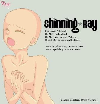 :BASE: ShinningRay by Lacy-Bo-Basey