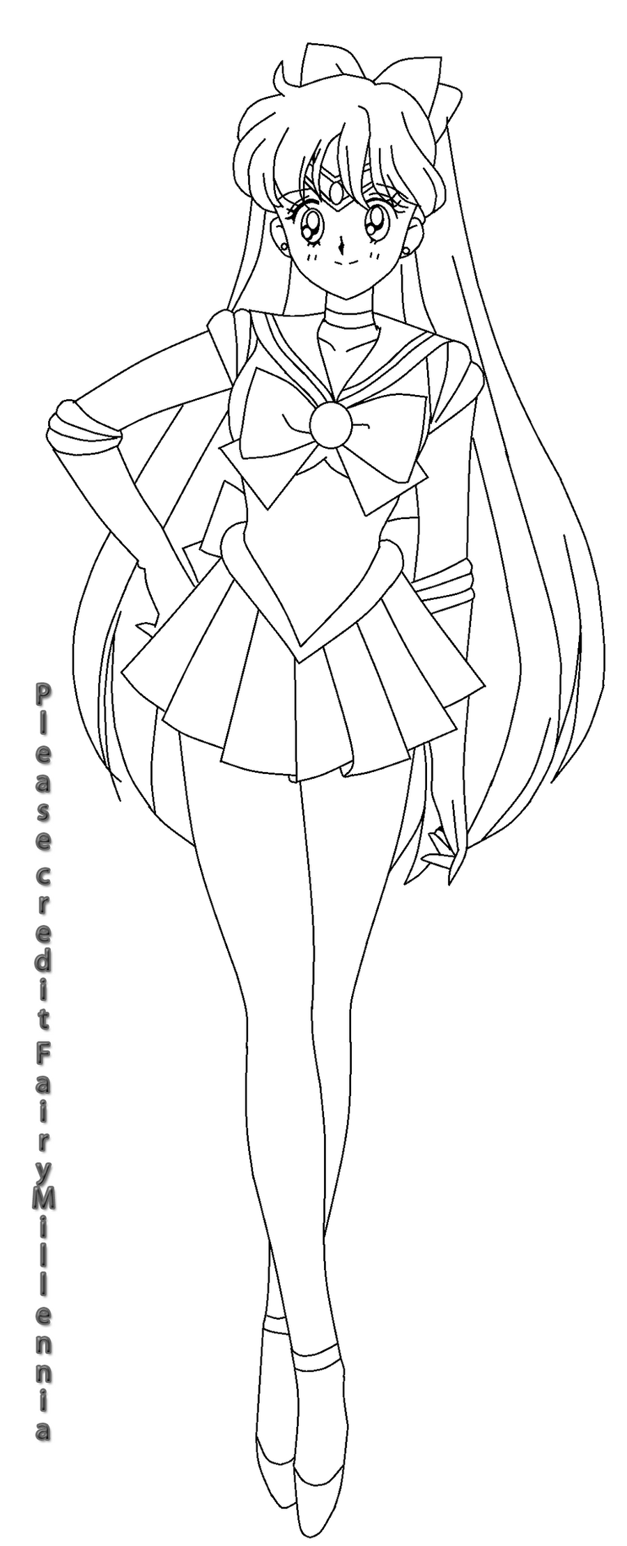 Coloring Pages Sailor Venus Coloring Pages sailor venus base by princess of asteria on deviantart asteria
