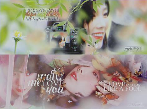 /060417/ MAKE ME LOVE TAEYEONIE