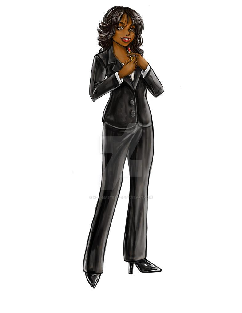black woman by Ken-Masters