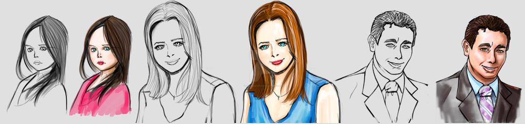 drawings by Ken-Masters