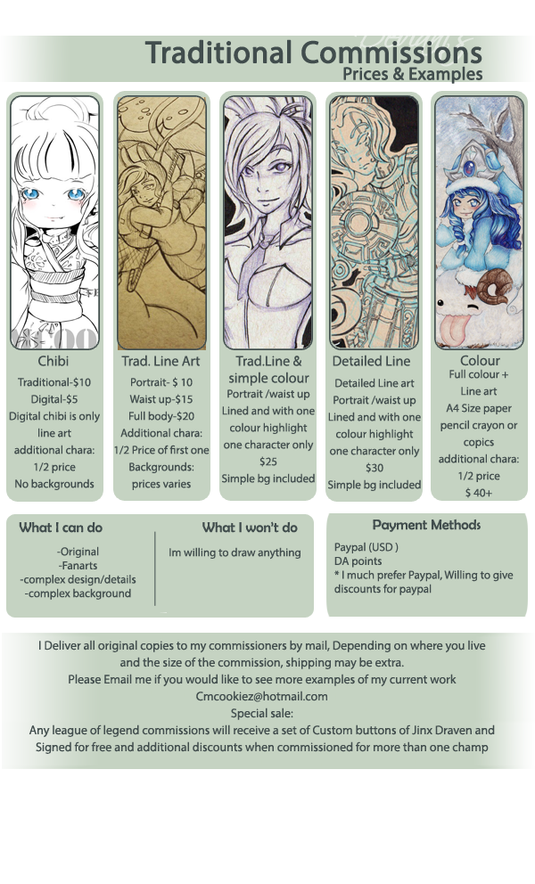 Commission Information by Cmcookiez