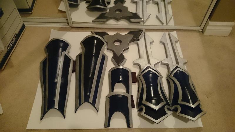 Shockblade Zedd Armor by Cmcookiez