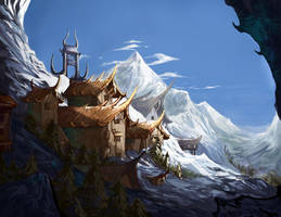 Alpine Ridge by anireal