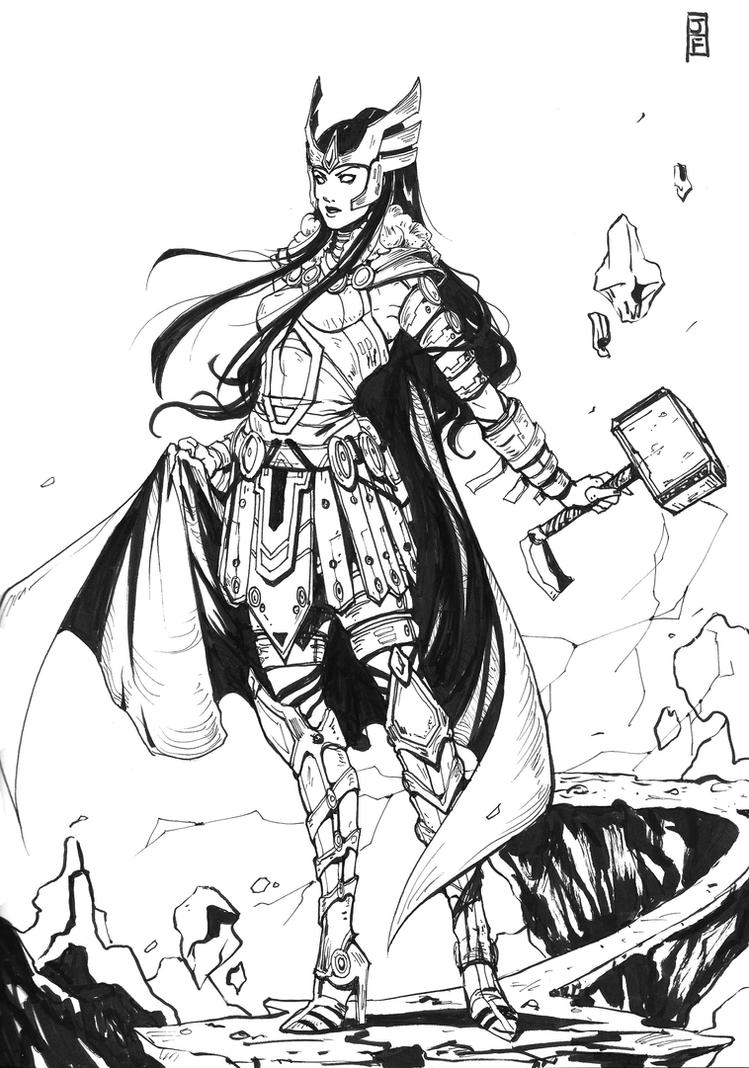 Commission Sif by anireal