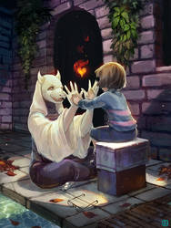 Undertale Charity Art Book Submission