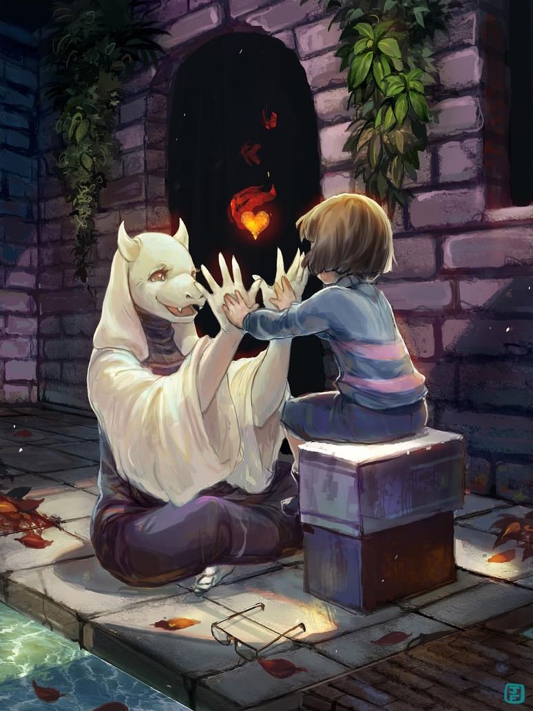 Undertale Charity Art Book Submission by anireal