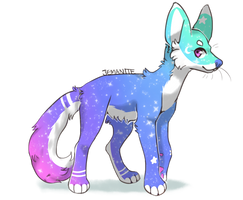 [$5] Feral Adoptable - Star Stepper