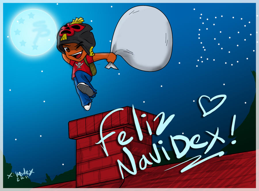 .:Feliz NaviDex 2011:. by DarkModex