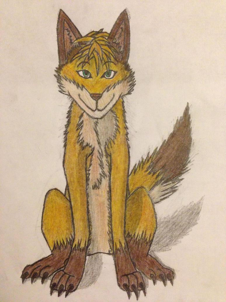 Sethtehwolfie trade by Soaringeagle78