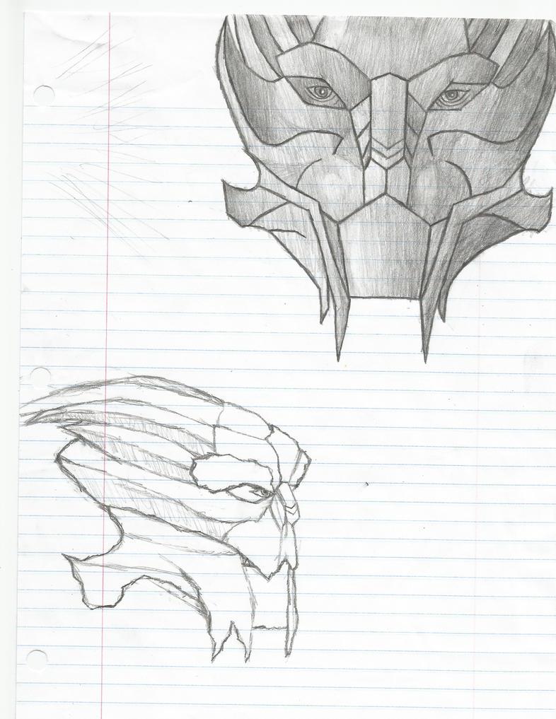 Turian Sketches by Soaringeagle78