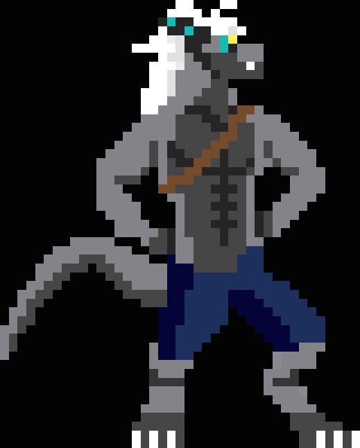 Pixel Warrior by Soaringeagle78