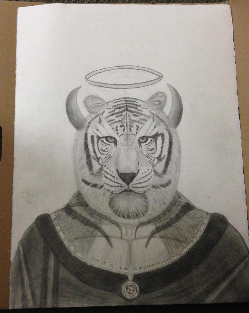Mystifying Tiger King by Soaringeagle78