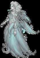 GW2: Lia White Orchid by Khiralas