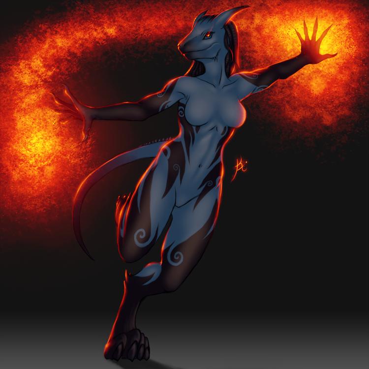 Adopt: Draconian Sorceress (Closed) by Khiralas
