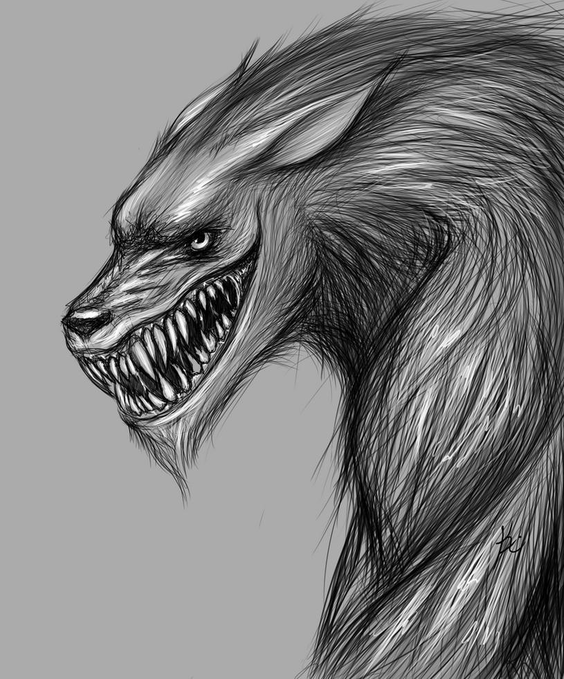 Werewolf Grin by Khiralas