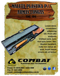 Folder da empresa COMBAT by isabelmitchell