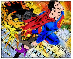pintura digital super homem by isabelmitchell
