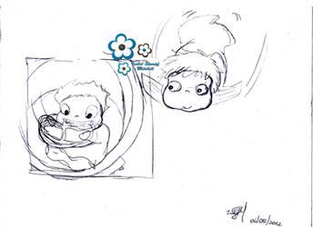 Rascunho Ponyo by isabelmitchell