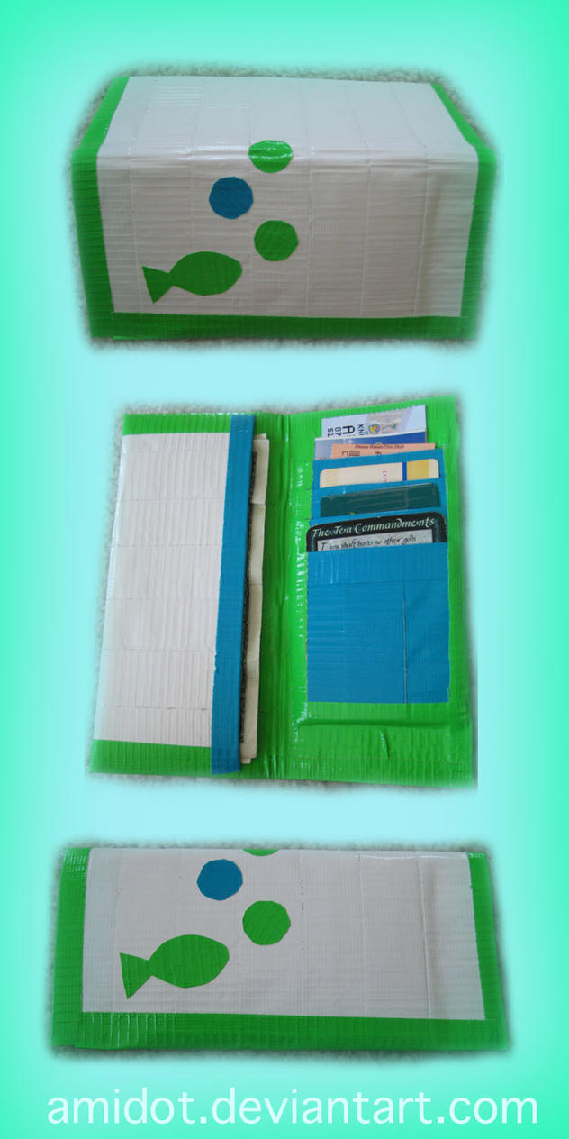 how to make a duct tape wallet
