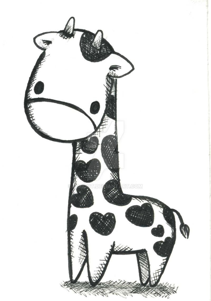 giraffe by amidot