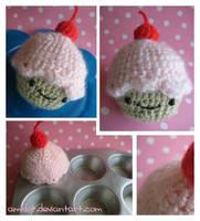 amigurumi cupcake by amidot