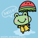 frog by amidot