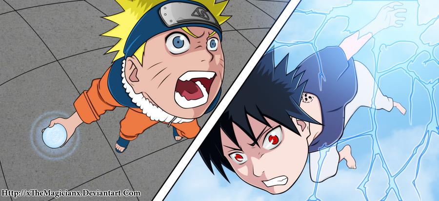 Breaking Down Naruto And Sasuke Six Battles. [Manga-fact]