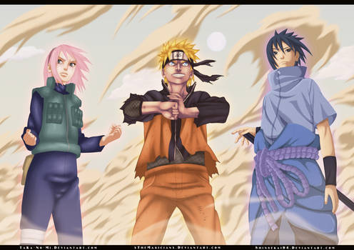 Collab : Naruto 632 - Team 7
