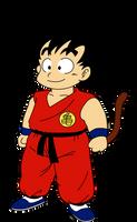 Dragon Ball - kid Goku 1 by superjmanplay2
