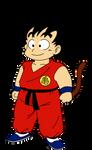 Dragon Ball - kid Goku 1