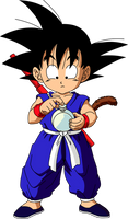 Dragon Ball - kid Goku 5 by superjmanplay2
