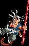 Dragon Ball - kid Goku 17 - Daizenshu 1