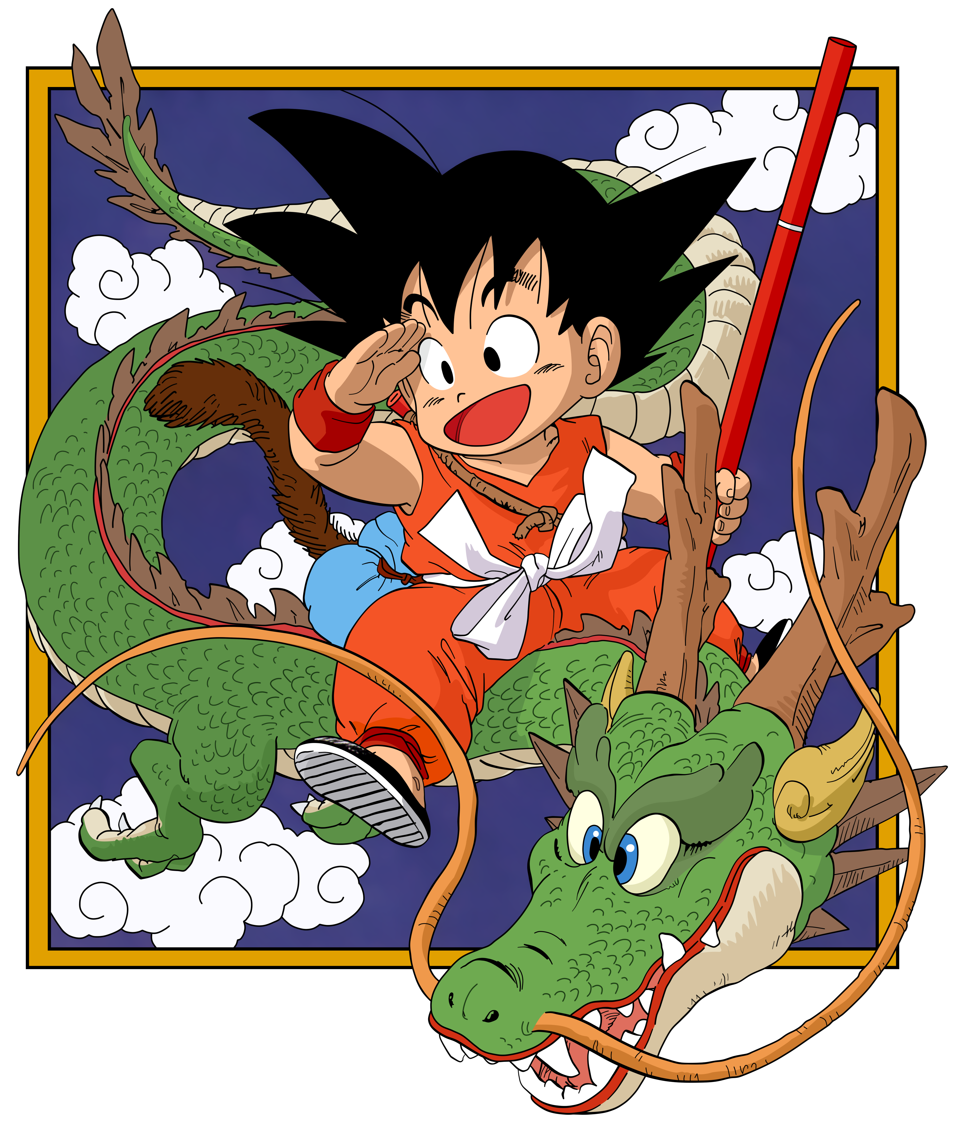 100 Dbz Dragon Dragon Ball Z Boardshorts Gohan Super Saiyan
