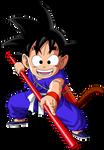 Dragon Ball - kid Goku 22