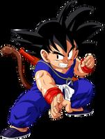 Dragon Ball - kid Goku 23 by superjmanplay2