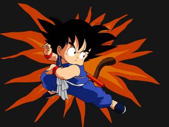 Dragon Ball - kid Goku 24 by superjmanplay2